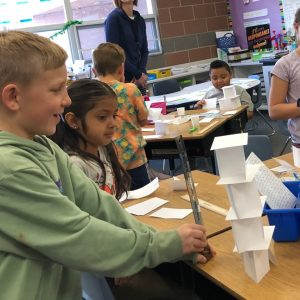 Second Grade STEM Building Challenge
